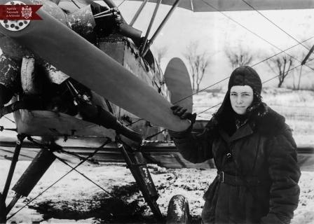 Salomatin E. F., pilot al aviației  civile din or. Chișinău, 05.03.1949, indice: 2595, autor - N. Maiorov